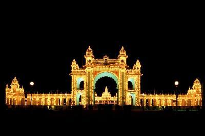 Mysore Palace-Charles Bowman-Photographic Print