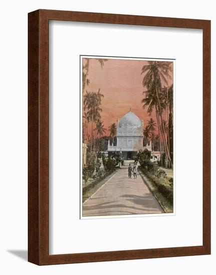 Mysore: Tombs of Tippoo Sahib and Hyder Ali--Framed Photographic Print