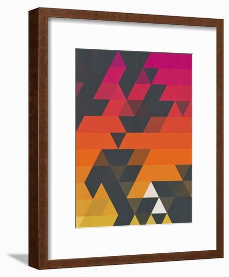 myss symmyr-Spires-Framed Art Print
