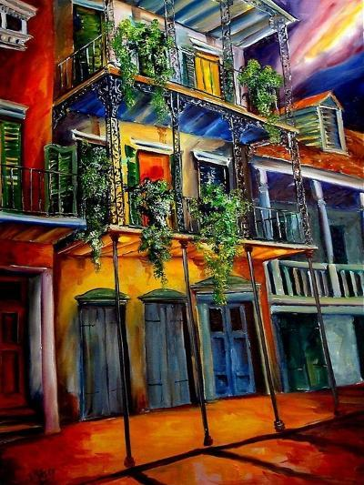 Mysterious French Quarter-Diane Millsap-Art Print