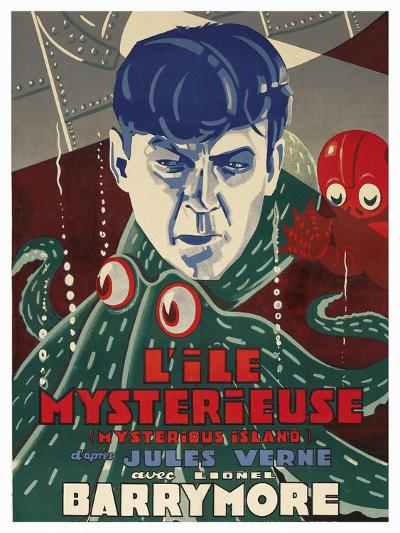 "Mysterious Island ""Lile Mysteriseus""--Art Print"