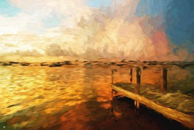 Mysterious Sunset III - In the Style of Oil Painting-Philippe Hugonnard-Giclee Print