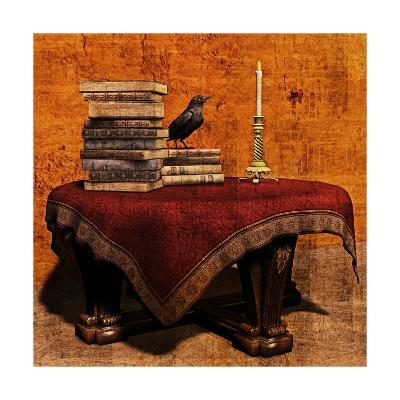 Mysterious Table-Petrafler-Art Print