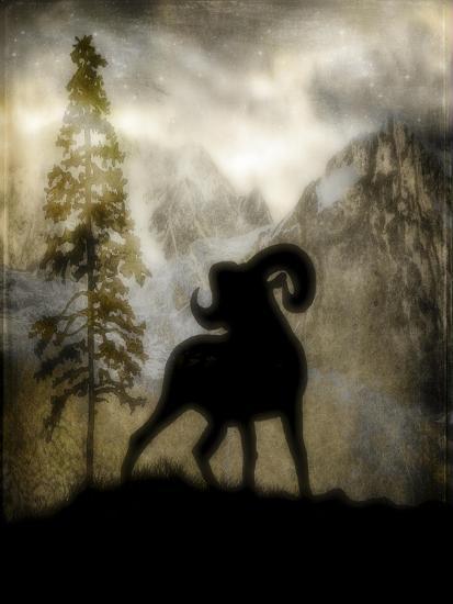 Mystic Big Horn-LightBoxJournal-Giclee Print