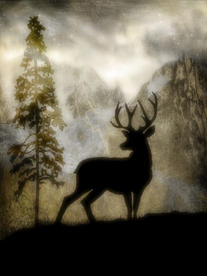 Mystic Deer-LightBoxJournal-Giclee Print