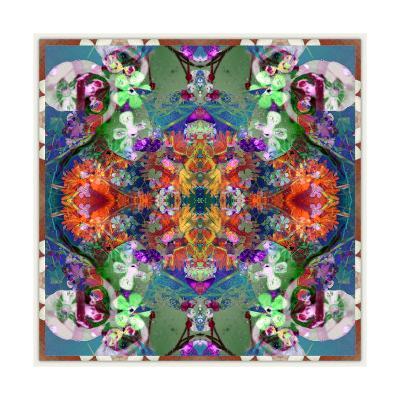 Mystic Floral Ornament No 1-Alaya Gadeh-Art Print