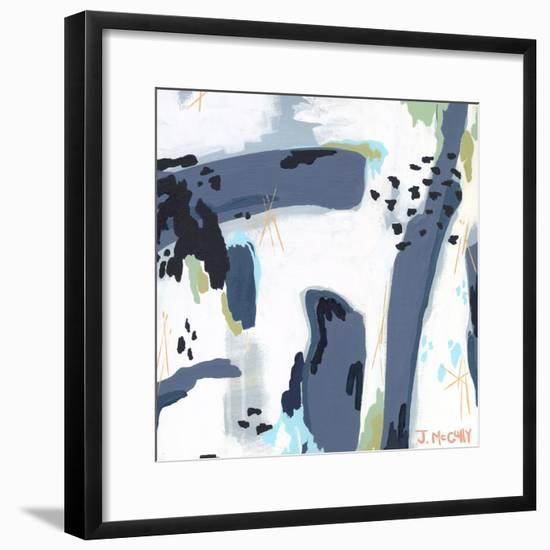 Mystic Fog Abstract-Jennifer McCully-Framed Giclee Print