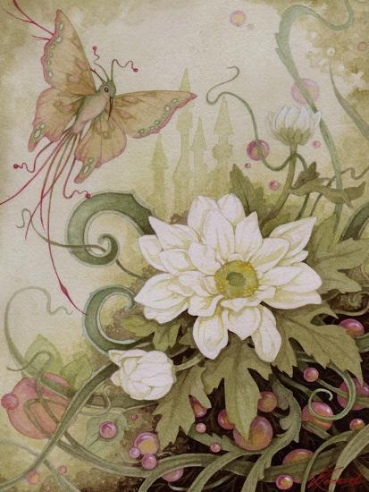 Mystic Garden Study-Linda Ravenscroft-Giclee Print
