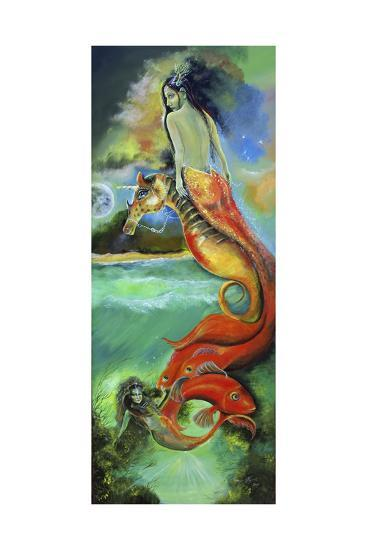 Mystic Mermaid-Sue Clyne-Giclee Print
