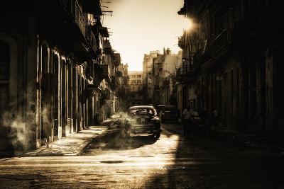 Mystic Morning in Havana...-Baris Akpinar-Photographic Print