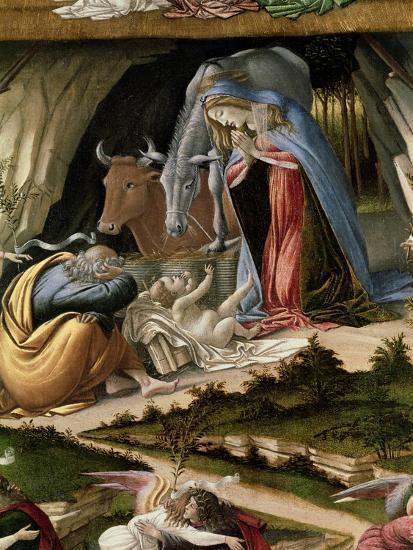 Mystic Nativity, 1500-Sandro Botticelli-Giclee Print