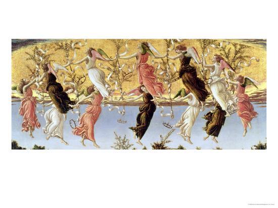 Mystic Nativity-Sandro Botticelli-Giclee Print