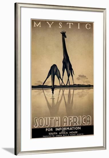 Mystic South Africa-Gayle Ullman-Framed Art Print