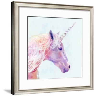Mystic Unicorn I--Framed Art Print
