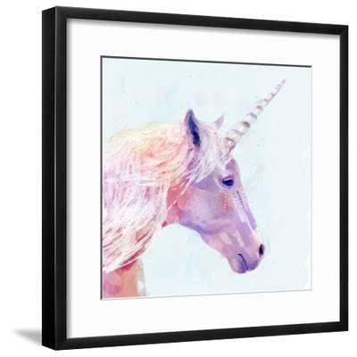 Mystic Unicorn I--Framed Art Print