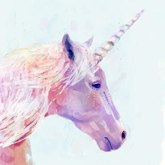 Mystic Unicorn I--Premium Giclee Print