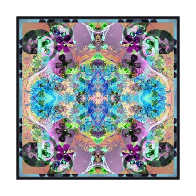 Mystical Floral Ornament No 2-Alaya Gadeh-Art Print