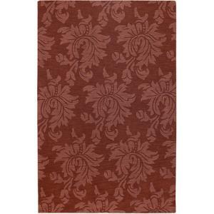 Mystique Flora Area Rug - Burgundy 5' x 8'