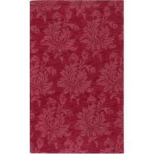 Mystique Flora Area Rug - Cherry 5' x 8'