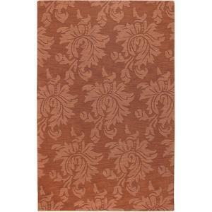 Mystique Flora Area Rug - Rust 5' x 8'