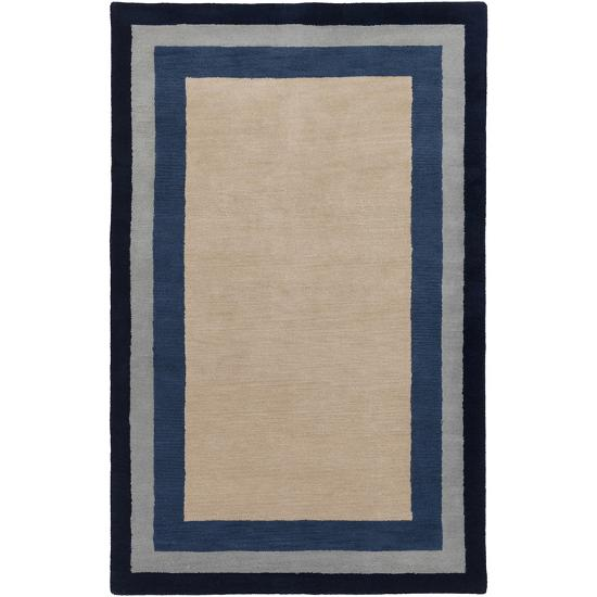 Mystique Layers Area Rug - Gray/Navy 5' x 8'--Home Accessories