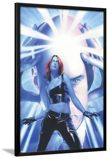 Mystique No.15 Cover: Mystique and Professor X--Lamina Framed Poster