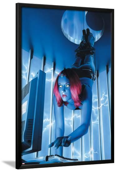 Mystique No.18 Cover: Mystique--Lamina Framed Poster