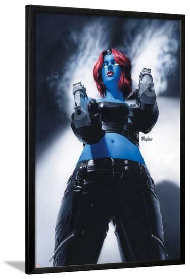 Mystique No.19 Cover: Mystique--Lamina Framed Poster