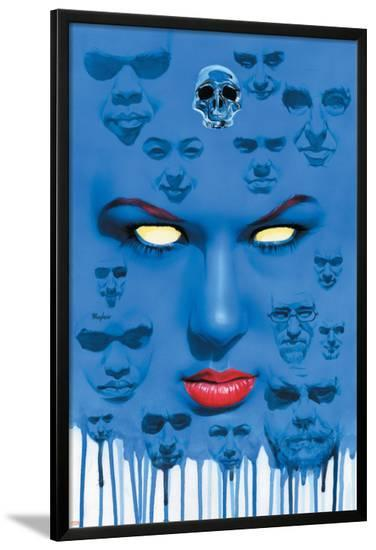 Mystique No.22 Cover: Mystique--Lamina Framed Poster