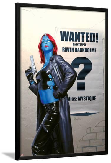 Mystique No.24 Cover: Mystique--Lamina Framed Poster