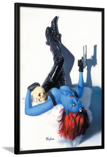 Mystique No.9 Cover: Mystique--Lamina Framed Poster