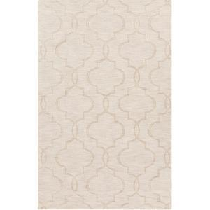 Mystique Patterns Area Rug - Ivory 5' x 8'