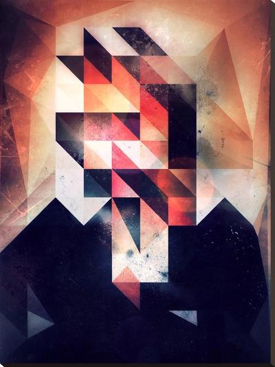 Mystyr Hyyd-Spires-Stretched Canvas Print