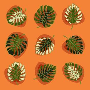 Monstera Leafs by Mything