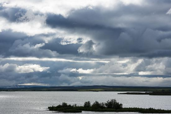 Myvatn, Clouds-Catharina Lux-Photographic Print