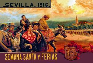 Sevilla Semania Santa y Ferias by N.c. Chilberg