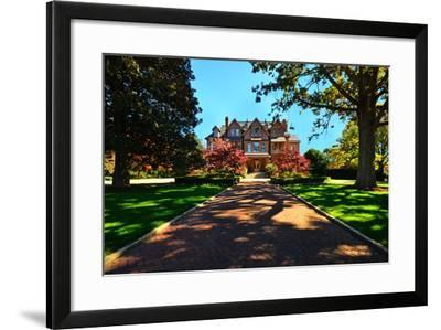 N.C. State Governors Mansion-Simply Photos, nc-Framed Photographic Print