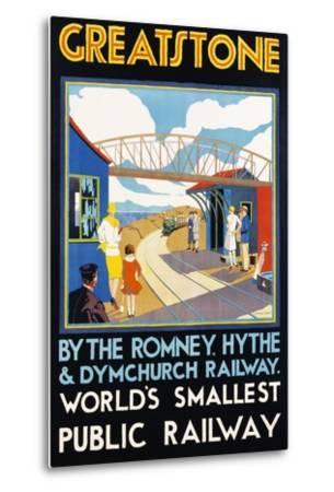 Greatstone - World's Smallest Public Railway Poster
