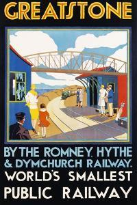 Greatstone - World's Smallest Public Railway Poster by N. Cramer Roberts