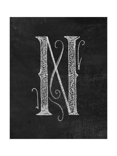 N Curly Chalk Capital-CJ Hughes-Giclee Print
