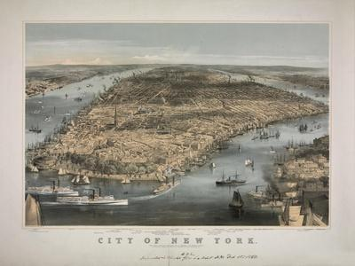 1856 NYC Map