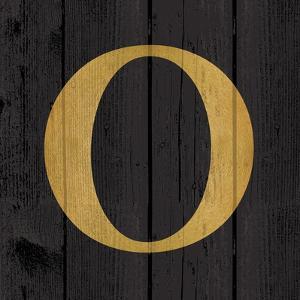 Gold Alphabet O by N^ Harbick