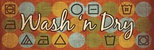 Laundry Symbols Panel II by N. Harbick
