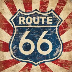 Route 66 I Sq by N. Harbick