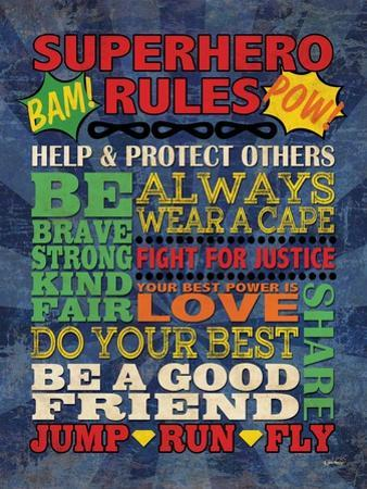 Superhero Rules by N. Harbick