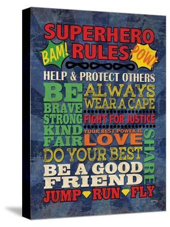 Superhero Rules by N. Harbick