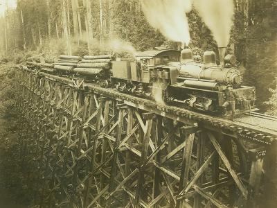 N.W.L. Co. Keriston, Washington (ca. 1912)-Darius Kinsey-Giclee Print