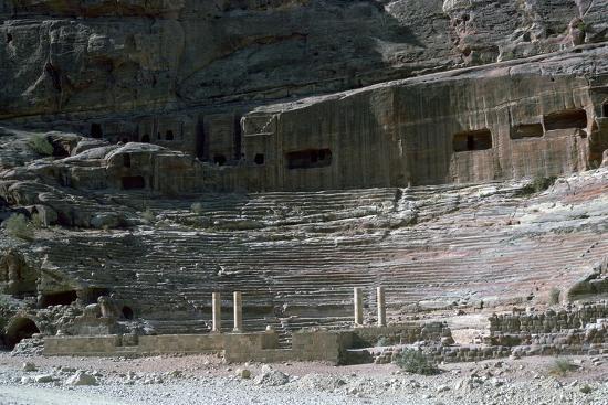 Nabatean Theatre, 1st century-Unknown-Photographic Print