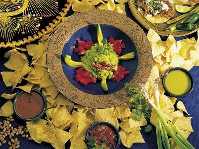 Nachos with Guacamole-Eric Horan-Photographic Print