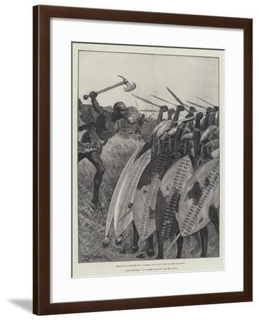 Nada the Lily-Richard Caton Woodville II-Framed Giclee Print